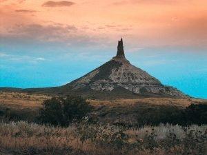Nebraska Travel Guide - Chimney Rock National Historic Site