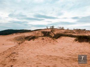 Sleeping Bear Dunes Climb