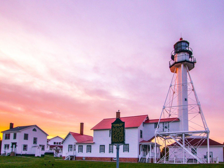 Whitefish Point Upper Peninsula of Michigan