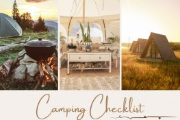 Camping Checklist | Travel The Food For The Soul